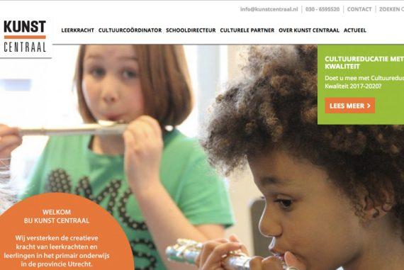 nieuwe website kunst centraal