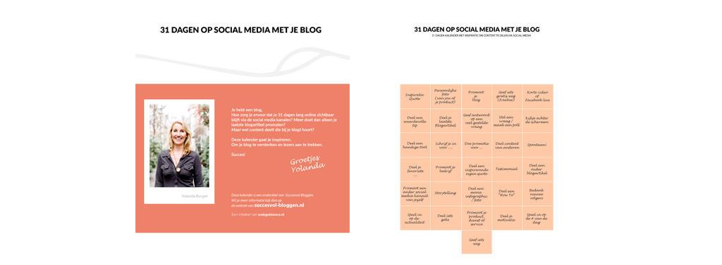 31 dagen op social media