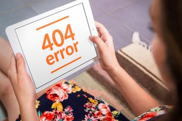 404 pagina maken