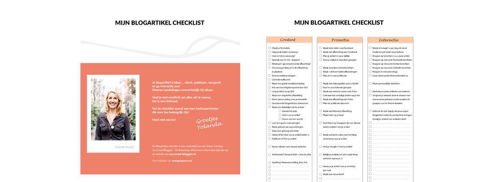 blogartikel checklist