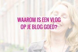 vlog op je blog