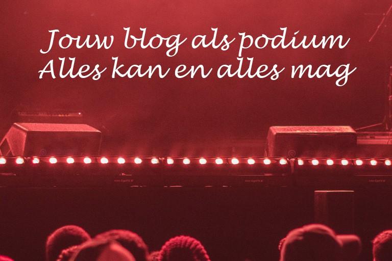 bloggen zonder tekst