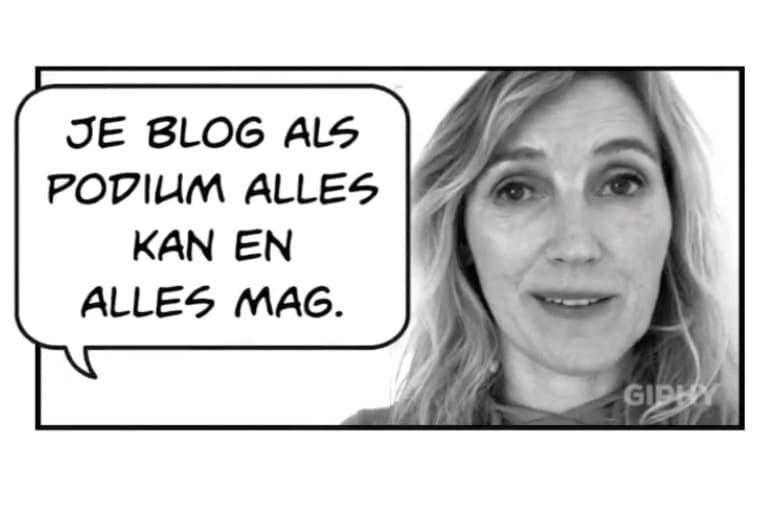 bloggen zonder tekst dag 1