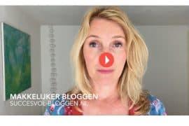 Blogtip Makkelijker bloggen