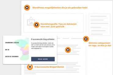 minder bloggen meer verkeer