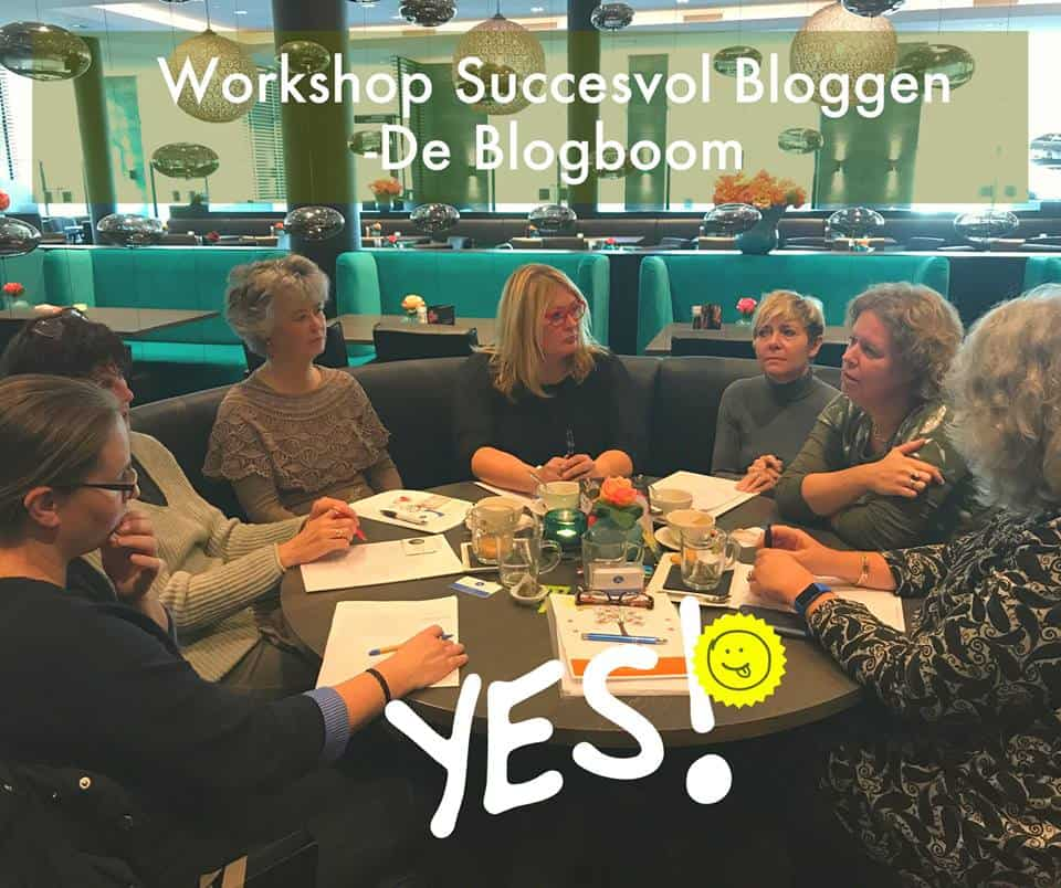 2019 introductie workshop | succesvol-bloggen.nl