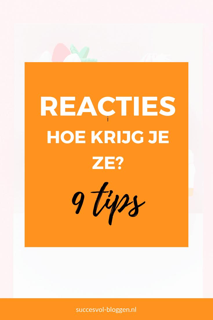 Reacties op een blogartikel, hoe krijg je ze? | Succesvol-Bloggen.nl | reacties | interactie | blogtip | social | tips