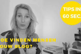 online zichtbaarheid in 60 sec blog vindbaarheid