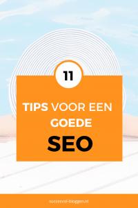 11 tips voor een goede seo. | Succesvol-Bloggen.nl | seo | tips | blog