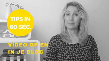 online zichtbaarheid in 60 sec video op en in je blog