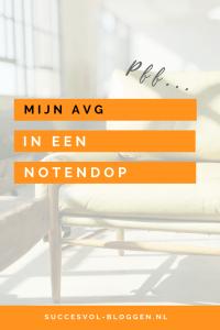 De AVG in een notendop. | Succesvol-Bloggen.nl | AVG | blog | e-maillijst