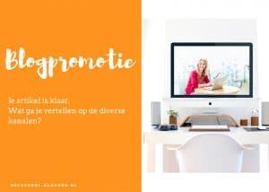 werkboek blogpromotie succesvol bloggen