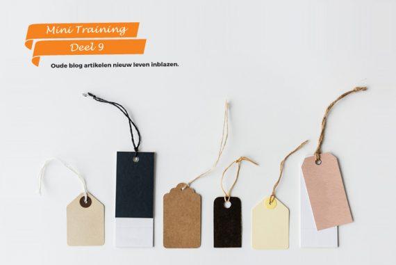 Waarom categorieën en tags gebruiken in je blog?
