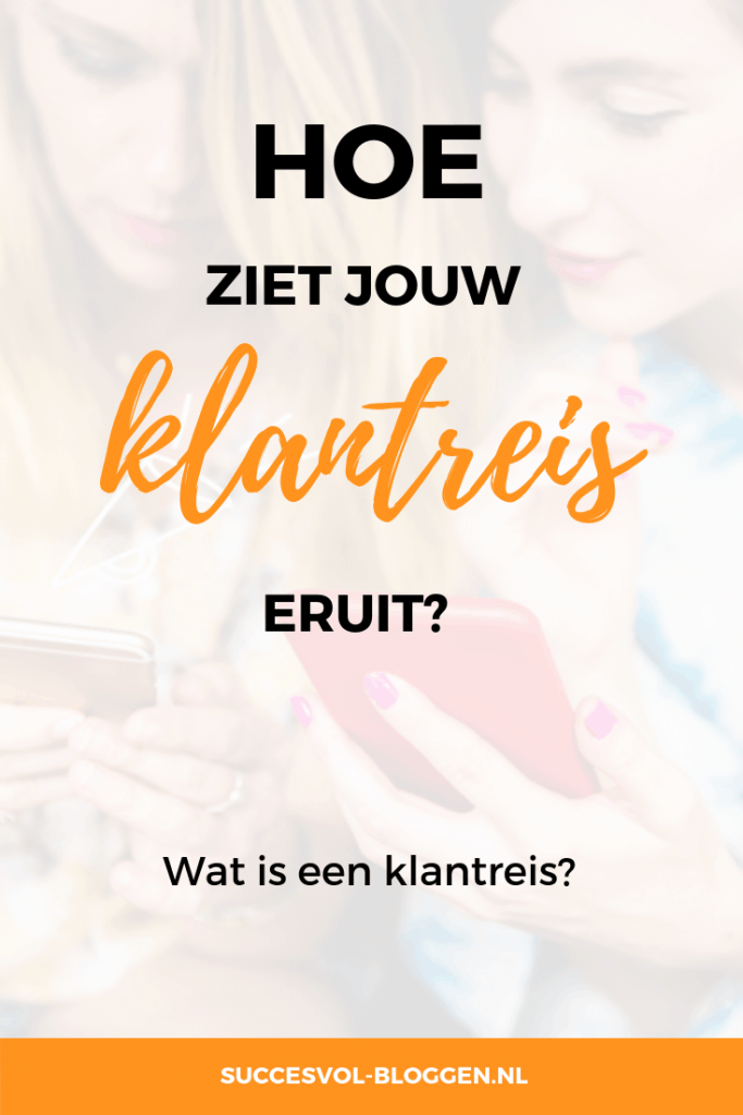 Klantreis in beeld | Succesvol-Bloggen.nl | #customerjourney #klantreis | contenstrategie content contentmarketing blog