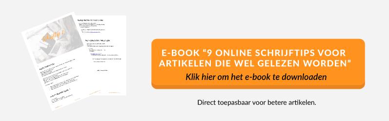 e-book 9 online schrijftips voor artikelen die wel gelezen worden. |succesvol-bloggen.nl | content | schrijftips | bloggen