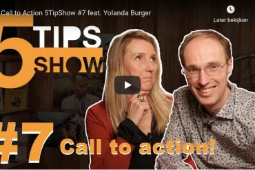 5TipShow van Steven Geldof | succesvol-bloggen.nl | vYouTube | videocontent