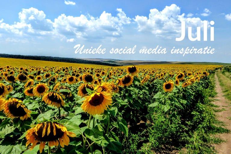 Unieke social media inspiratie: Juli 2019 | Succesvol-Bloggen.nl | socialmedia | onlinecommunicatie