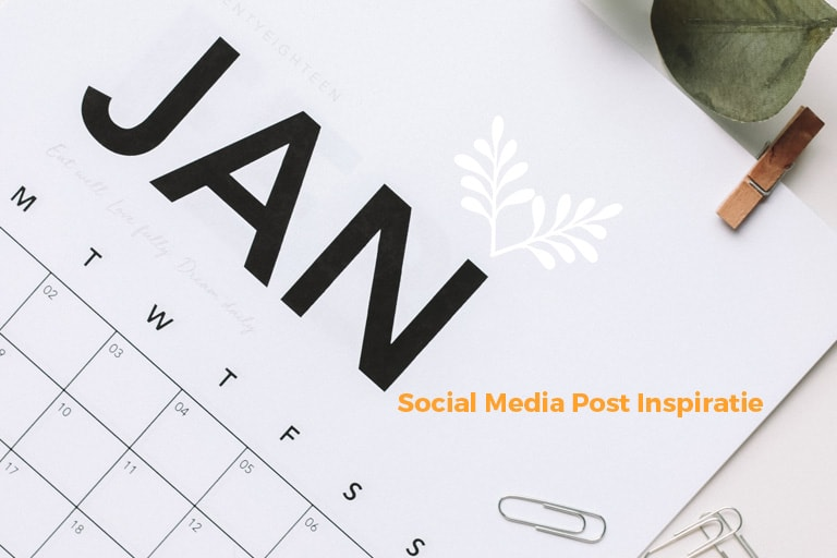 Unieke-social-media-inspiratie-Januari-2020 | succesvol-bloggen.nl